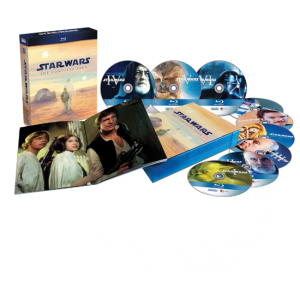 Star Wars - 9 Blu-ray