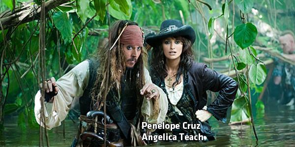 Penelope Cruz è la figlia del pirata Barbanera.