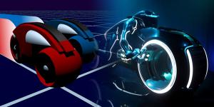 Lightcycle a confronto: Tron 1982 vs Tron: Legacy 2010