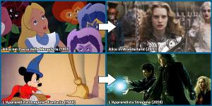 Alice nel Paese delle Meraviglie, L'Apprendista Stregone e i loro remake del 2010Alice nel Paese delle Meraviglie, L'Apprendista Stregone e i loro remake del 2010