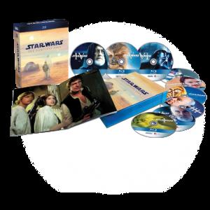 Star Wars - 9 Blu-ray