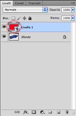 Un Livello Oggetto Avanzato è segnalato da un'icona particolare
