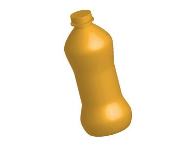 Bottiglia 3D con Illustrator