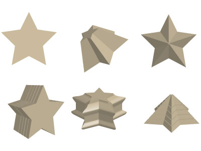 Smussi personalizzati in 3D con Illustrator