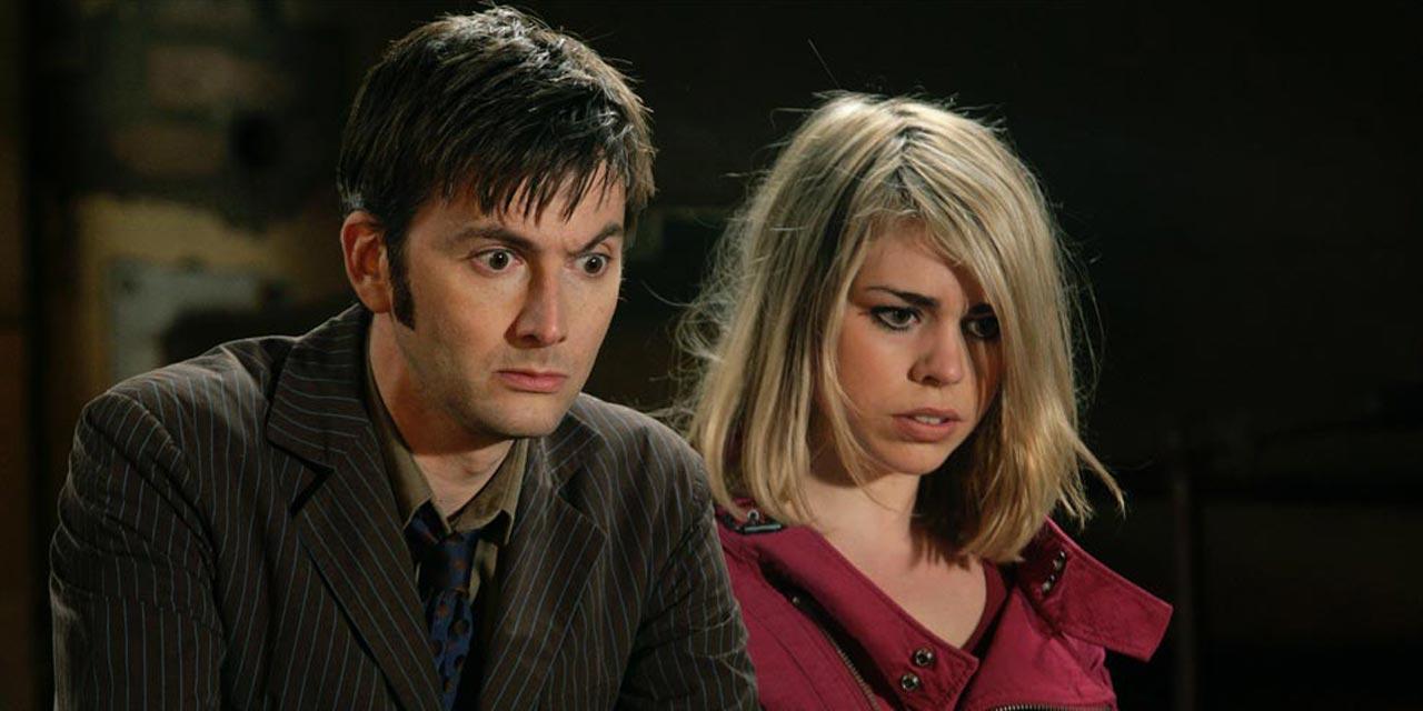 Il Decimo Dottore e Rose Tyler