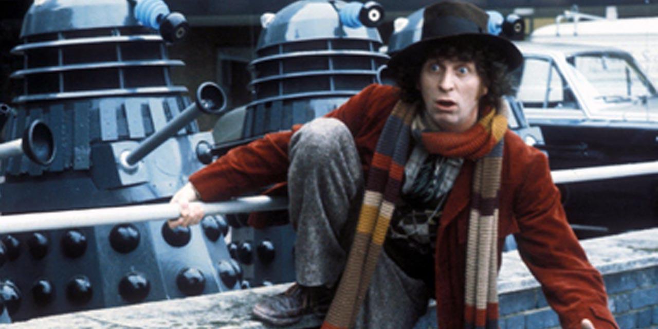 Il quarto Dottore in fuga dai Daleks